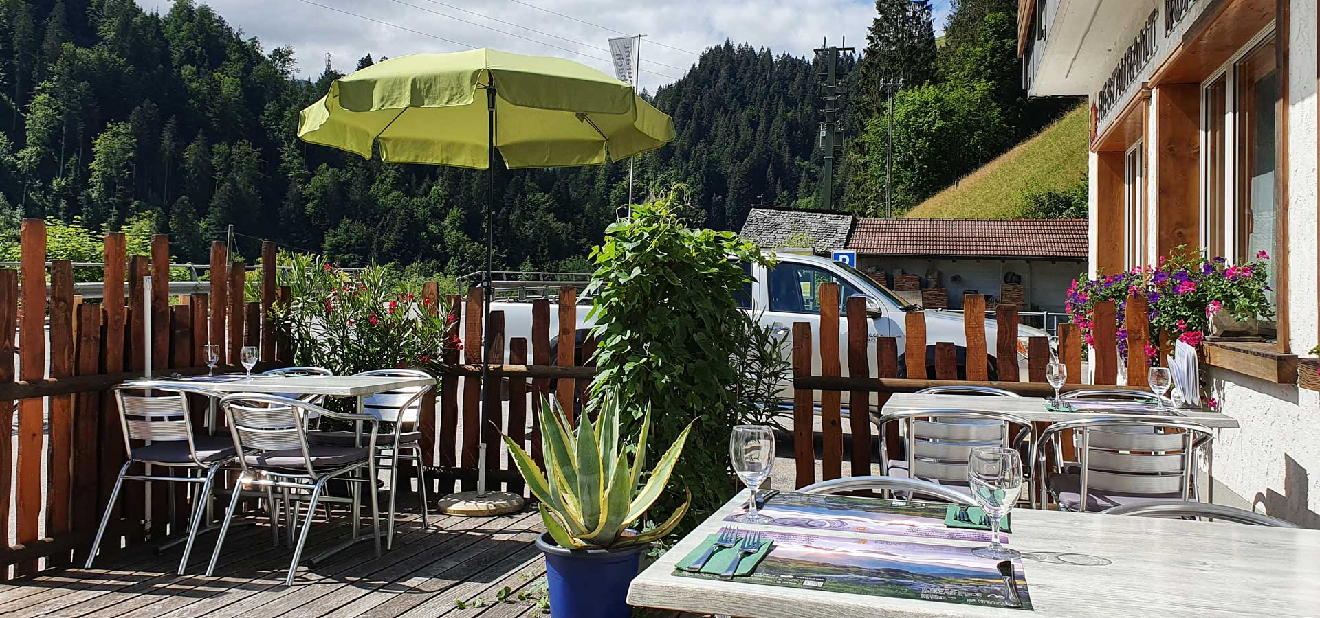 Terrasse Restaurant Rohrbach